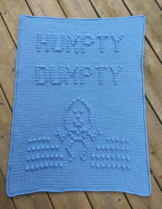 Humpty Dumpty Baby Blanket Pattern