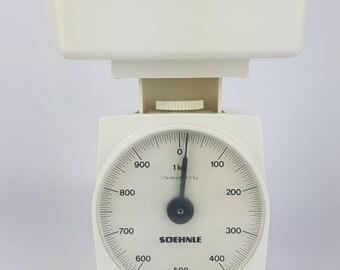 Soehnle Kitchen Scale Vintage White