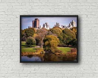 Central Park Foto / Digital Download / Fine-Art Print / Kunst / Home Decor / Farbe Fotografie / New York City / Reisefotografie