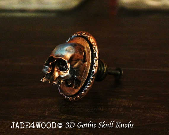 gothic skull kn pfen 3d kommode kn pfe kn pfe schrank kommode. Black Bedroom Furniture Sets. Home Design Ideas