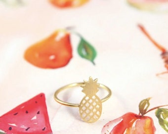 Pineapple Ring Gold