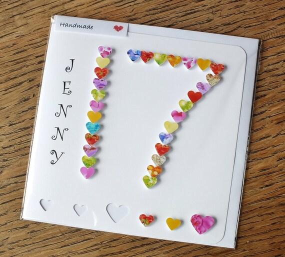 17th Birthday Card Age 17 Card Personalised 17th Birthday