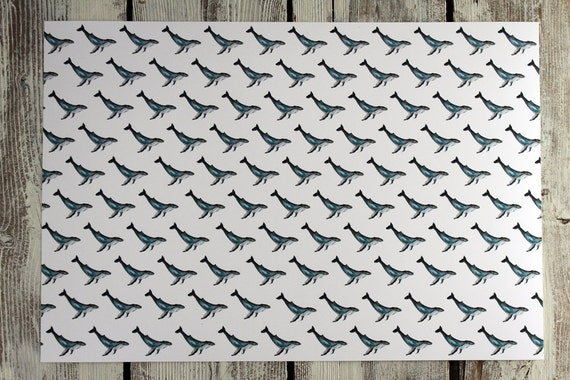 Placemats - FOX, NARWHAL, WHALE