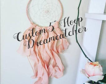 dreamcatcher, dream catcher, nursery baby dreamcatcher, personalized gift, personalized baby shower gift, small bohemian dreamcatcher