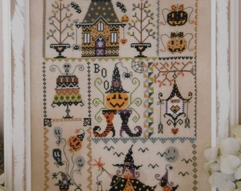 Chart HALLOWEEN in QUILT - Hardcopy or PDF format