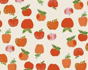 Kinder Apples in Red by Heather Ross for Windham Fabrics - 1/2 Yard