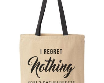 Bachelorette Bags, Custom Bachelorette Party Totes, Personalized Tote Bag, Funny Bachelorette Gift, 21st Birthday Bags, Girls Trip Totes
