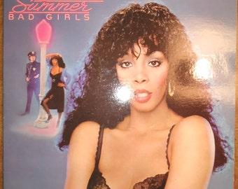 Donna Summer - Bad Girls NBLP-2-7150 Vinyl Record LP 1979