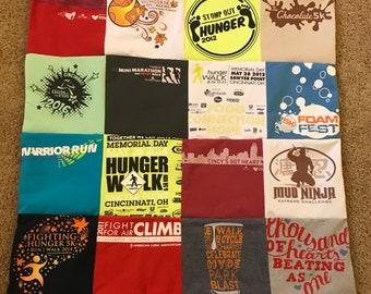 Memory T-shirt Blanket