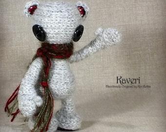 Kaveri - Original Handmade Little Teddy/Collectable/Gift/Charm