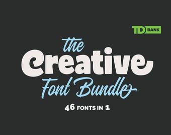 46 Fonts Bundle