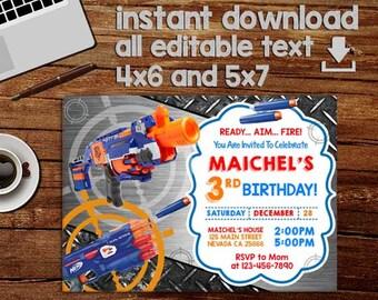 Kids birthday invite Etsy