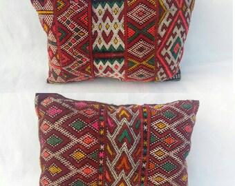 Gorgeous vintage berber Cushion double sides berber handmade.