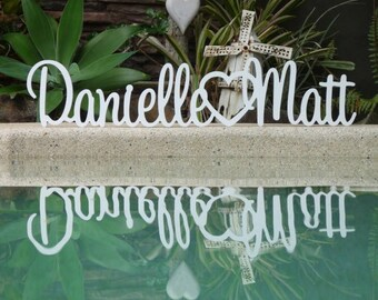 Wedding Sign, Custom wedding signs, Rustic Wedding Signs, Wedding centerpiece, Wedding name sign, Wedding table decor