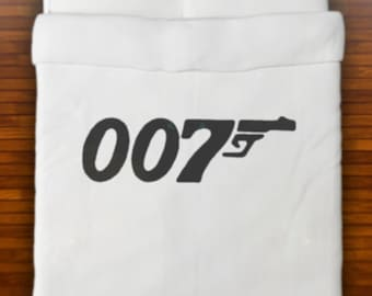 007 James Bond Duvet Cover Bedding Queen King Twin Size Full Double cotton sheets set