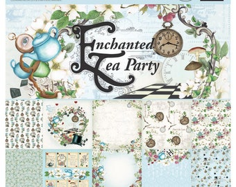 ENCHANTED TEA PARTY - COUTUREs CREATIONs - 6x6 -  24 sheets