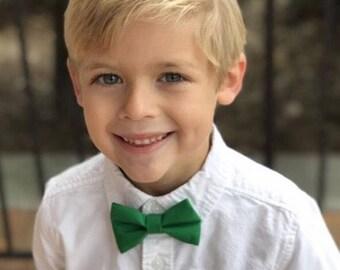 Bow Tie , Green Bow Tie, Boy Bow Tie, Green Bow Tie