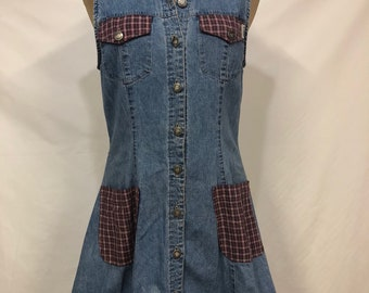 Vintage Guess Jeans Denim Dress