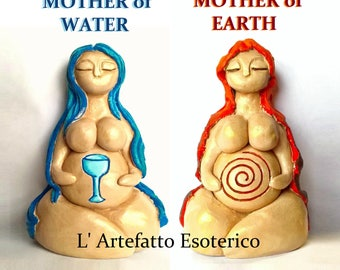 Water Mother Water -Nolava of Water (Lady of the Lake, the Springs) / Mother Earth -Nolava of the Earth (Gaia, Brigantia ..) ONLY ONE