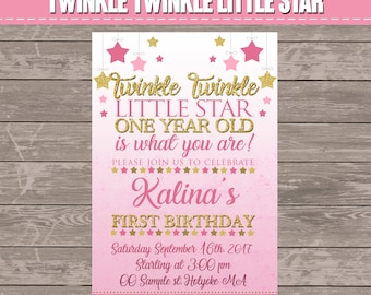 Twinkle Twinkle Little Star  (digital file only)