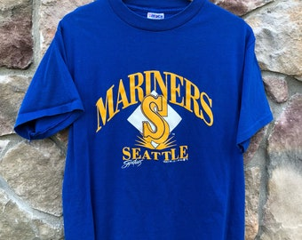 Seattle Mariners Trench T Shirt Large L Ken Griffey Jr