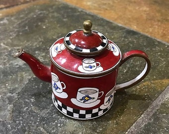 Miniature Kelvin Chen Teapot.  Collectible.