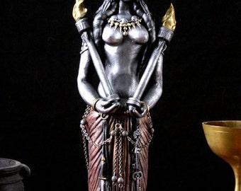 Personally Commissioned Hekate Statue