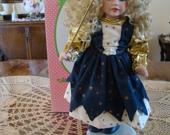 Twinkle Porcelain Doll by Paradise Galleries, Treasury Collection
