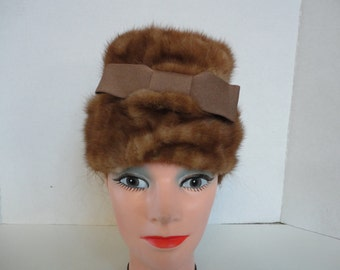 Mink Hat by Lora