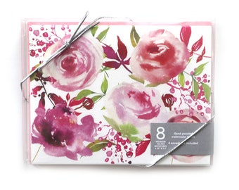 Notecards // Note Cards // Boxed Notecards // Blank Notecards // Floral Cards // Thank You Cards // Stationery // Floral // Greeting Card