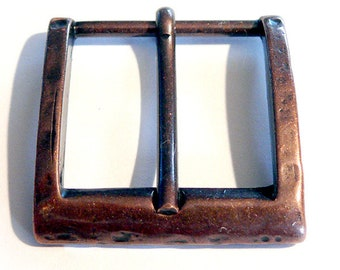 4 piece belt buckle 28 mm Altbronze belt buckle buckle LARP Medieval