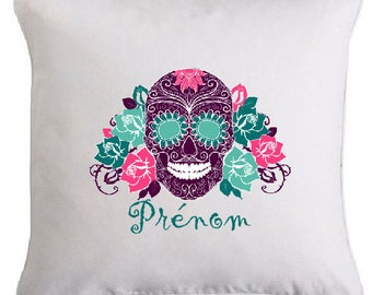"Removable cushion ""MEXICAN SKULL"""