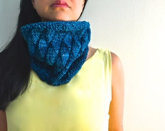Rolling Waves PDF KNITTING PATTERN - knit your own scarf - instant download Knitarelli patterns