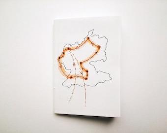 Travel zine: EUROPE // poetry / prose // handmade zine / handwritten zine // journal excerpts