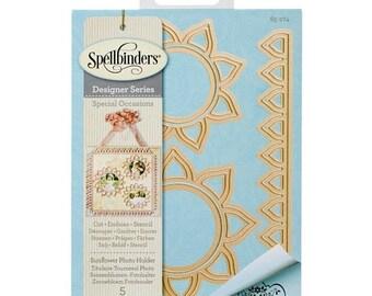 Mothers Day Special: Spellbinders Shapeabilities Dies Sunflower Photo Holder S5274