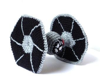 Star Wars Tie Fighter Crochet Amigurumi Pattern