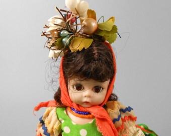"Madame Alexander Brazil 8"" Dolls of the World Bent Leg"