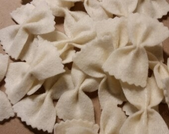 Felt Bow Tie Pasta - BOGO and free shipping until September 1st!