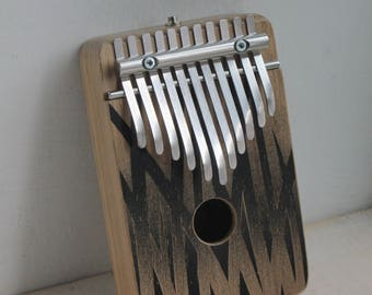 TALL GRASS - electric kalimba G major pentatonic - thumb piano - natural toys - wooden toys -  music gift - music instrument