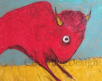Red Bison 1