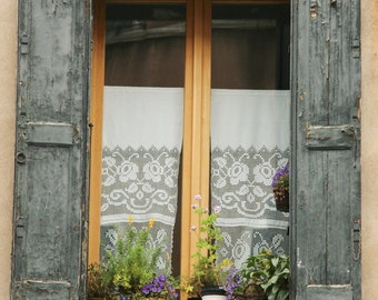 """Window in Venice, Color Photography, """"Venecia 2"""", Photographic Matte Paper, Windows and Doors, Architecture, Italy."""