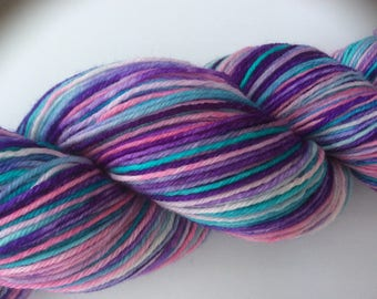Pastel Party - hand dyed yarn 3.5 oz 437 yds