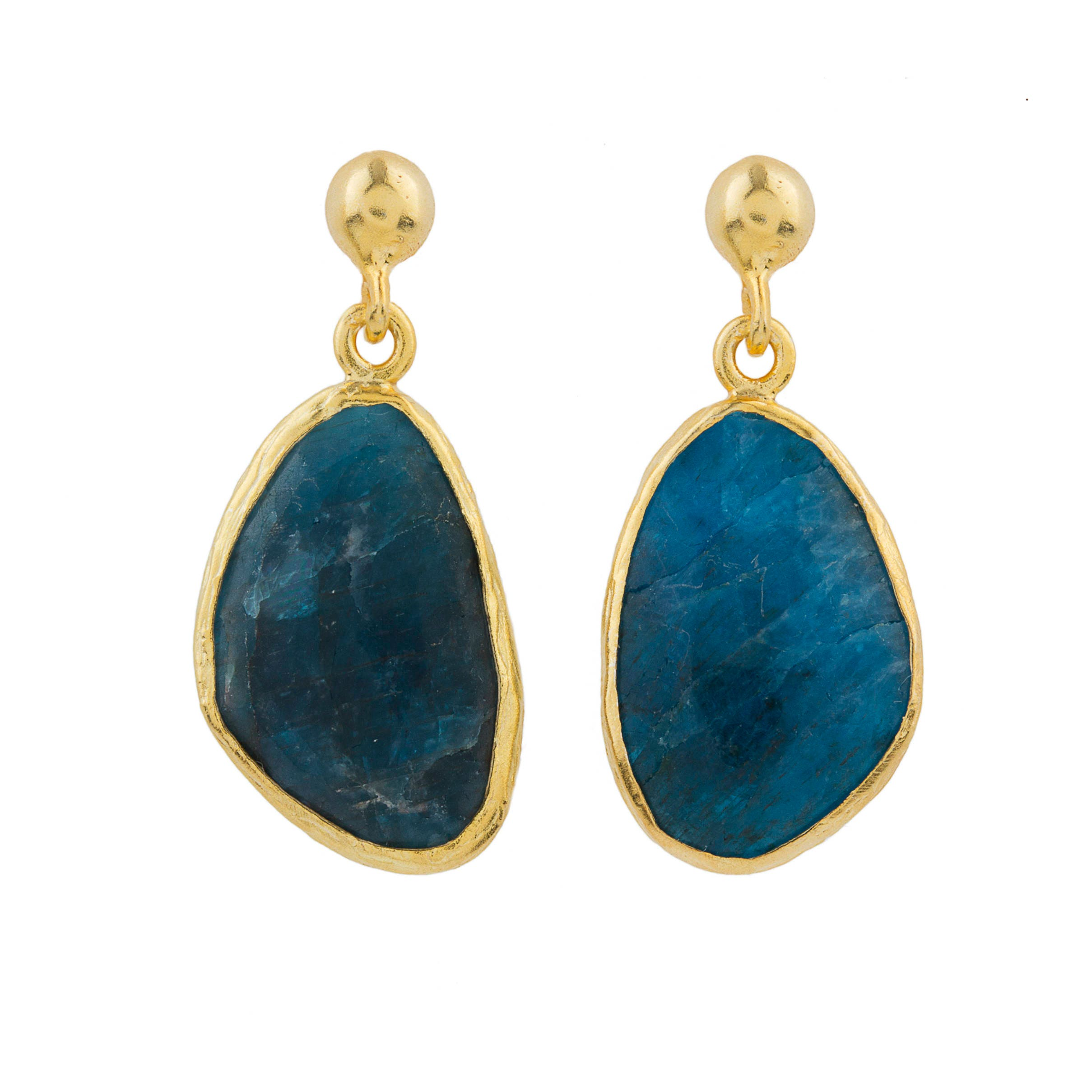 colectiva studs products apatite by neonapatite neon raw pinchgoods earrings