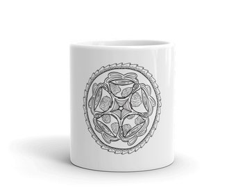 Adult Coloring Mug - Color-in Coffee Mug for Coffee lovers!