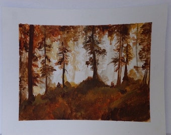 Autumn Woods Prints