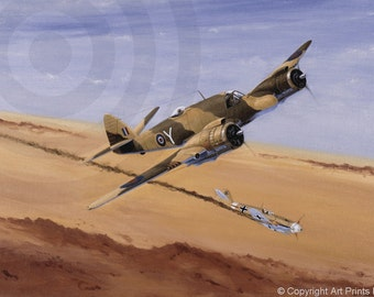 BEAUFIGHTER AND ME 109G