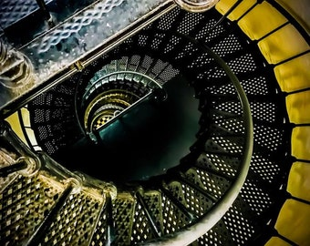 Spiral Staircase Print - Jessica Mason Photography