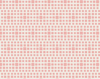 Rosewater Squared Elements Check Squares By Art Gallery Fabrics