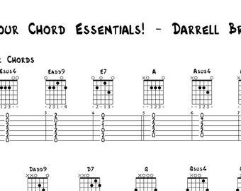 Colour Chords Every Guitarist Should Know!