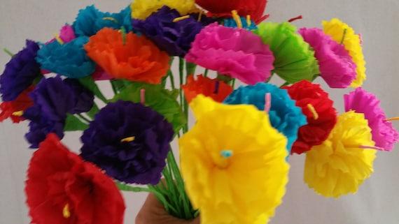 Hawaiian luau 10 paper flowers dia de los muertos mexican mightylinksfo